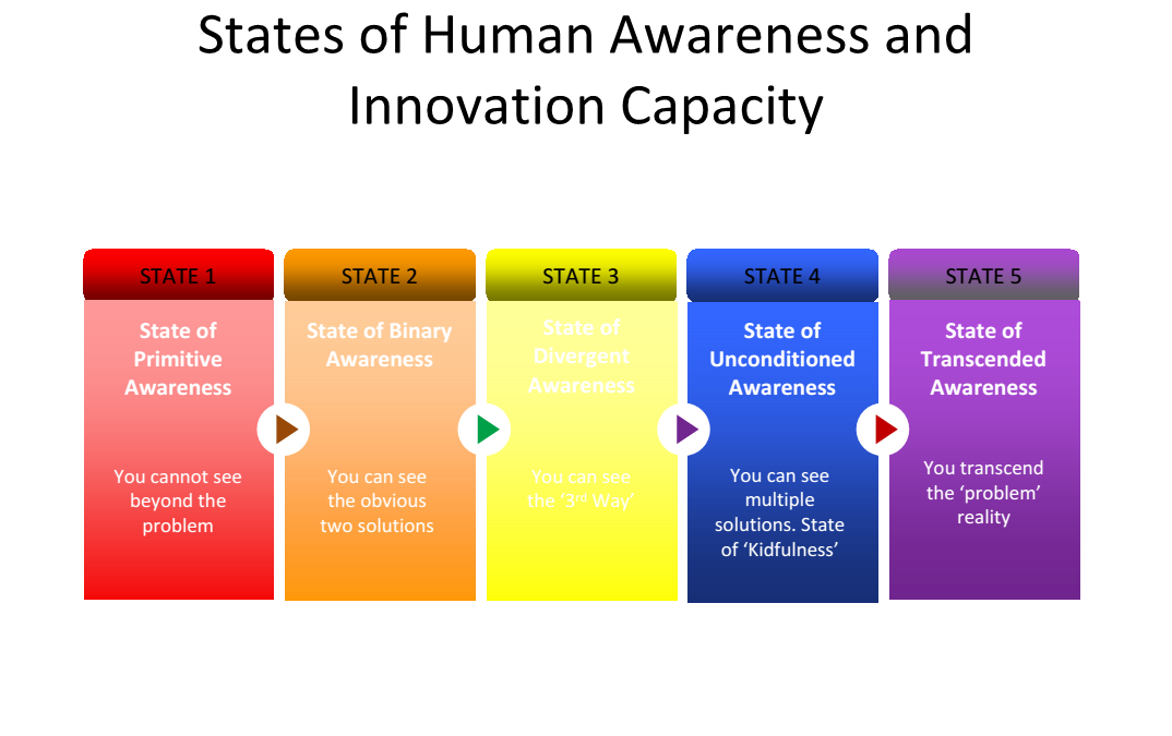 ACCESSING HIGHER STATES OF AWARENESS: THE NEXT PARADIGM OF INNOVATION
