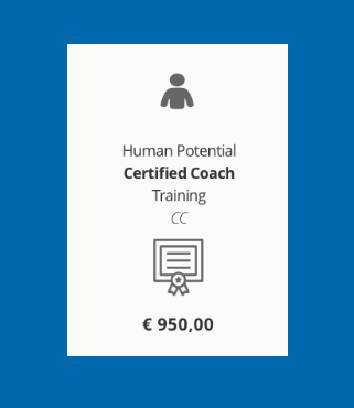 In Italian: 10 week Human Potential Certified Coach Training (CC)