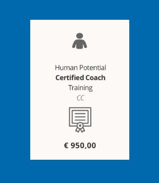In Italian: 10 week Human Potential Certified Coach Training (CC)